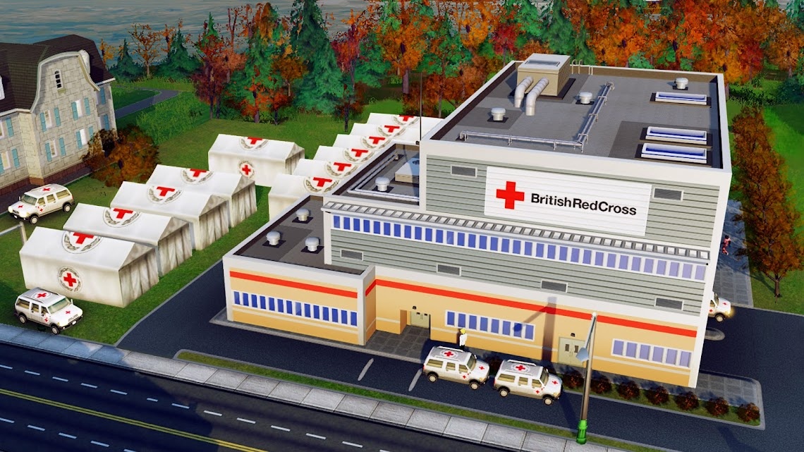 EA and the Red Cross team up to offer charity DLC for SimCity
