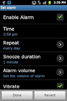 Screenshot of Buddhist Alarm Clock