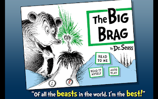 Screenshot of The Big Brag - Dr. Seuss