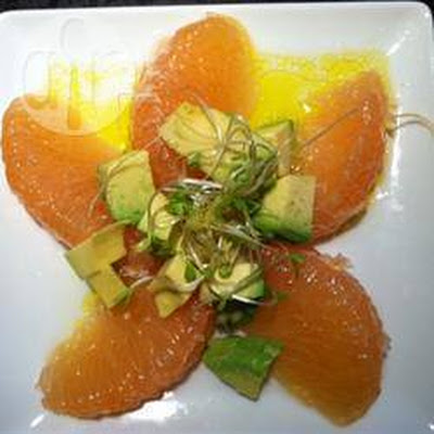 Salade Met Grapefruit En Avocado