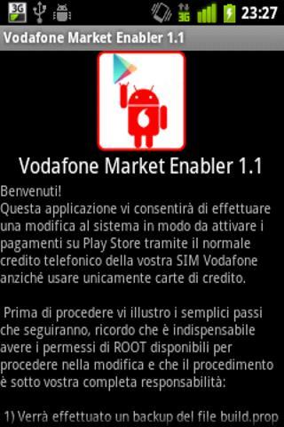 Vf Market Enabler