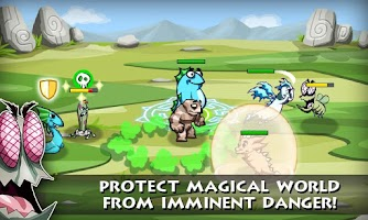 Screenshot of Pocket Dragons RPG