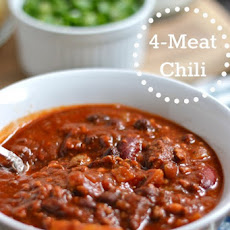 Hearty Four-Meat Chili