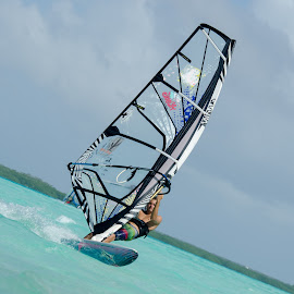 windsurfer by John Westwood - Sports & Fitness Watersports (  )