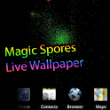 Spores magique Live Wallpaper icon