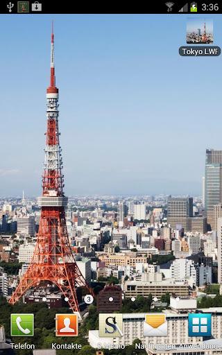 Tokyo Skyline Night Day Pro