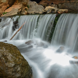 zegzel waterfall by Omar Sakhi - Landscapes Waterscapes ( waterfall, long exposure, landscapes )