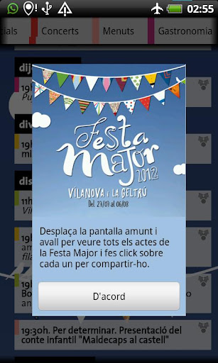 Festa Major Vilanova 2012