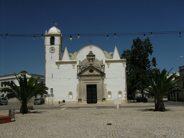 16th century church at Luz De Tavira