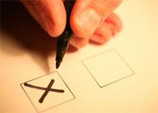 Как правильно следать голосование для конкурса