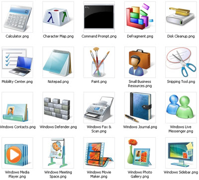 скачать красивые иконки для windows: