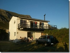 Our home in Betty's Bay