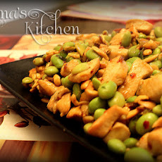 Soybeans & Chicken with Cashew