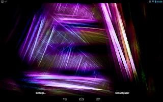 Screenshot of Prismatic Dreams PRO Live WP