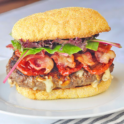 Chipotle Jack Bacon Burgers