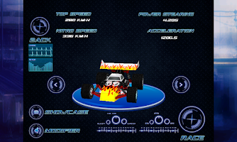 Screenshot of 3D Car Racing