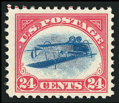 Inverted Jenny, position 57