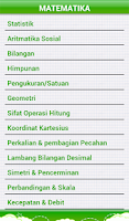 Screenshot of Marbel Rumus Matematika SD