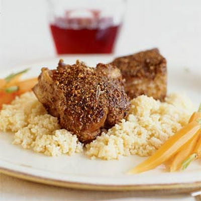 Spiced Lamb Chops