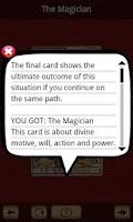 Screenshot of Best Tarot Lite