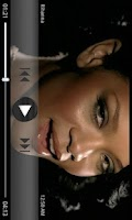 Screenshot of PlayerPro Grey Skin