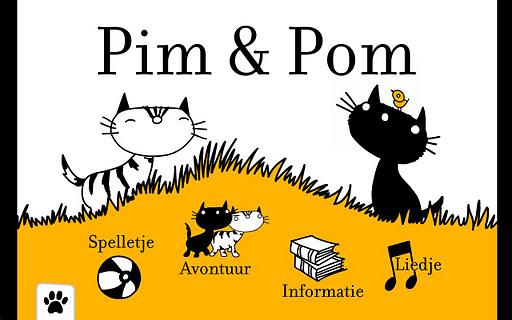 Pim Pom op Safari