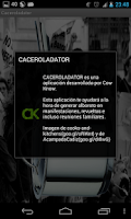Screenshot of Caceroladator