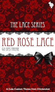 How to get Red Rose Lace GO SMS Theme 2.0 mod apk for pc