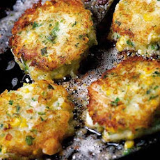 Mary's Prawn & Corn Rosti