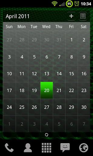 個人化必備APP下載|Black and Green Theme Chooser 好玩app不花錢|綠色工廠好玩App