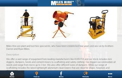 Miles Hire - screenshot
