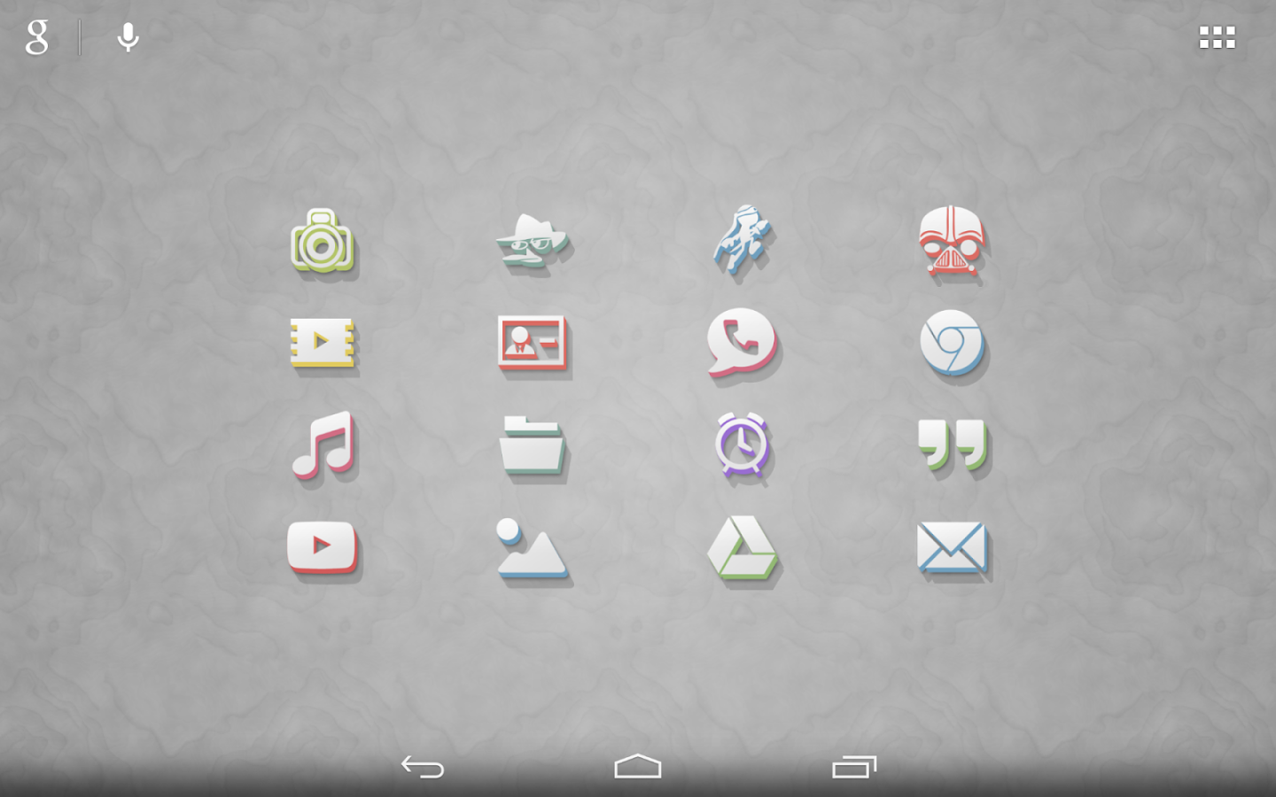 3Dion - Icon Pack Screenshot 7