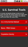 Screenshot of U.S. Survival Tools Pro