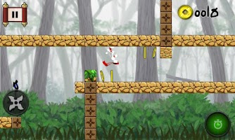 Screenshot of Run Ninja Jump DX Free Games