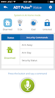 Screenshot of ADT Pulse ® Voice