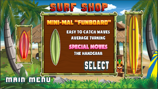 Kahuna Surfer - screenshot