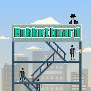 Rokketboard – control endless hoverboard game with no brakes