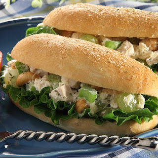 Chicken Salad Stuffed Breadsticks