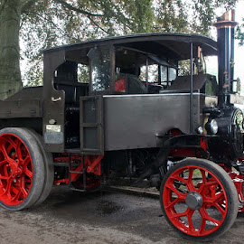 Steam Truck by John Davies - Transportation Other ( age of steam, steam engines, vintage machinery, vintage engines, steam traction engines )