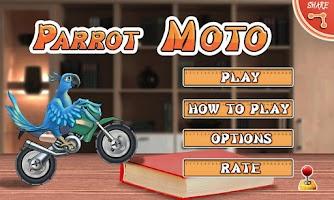 Screenshot of Parrot Moto