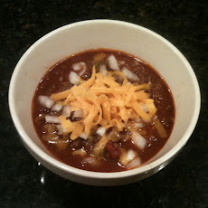 Southwest Meets Midwest Chili