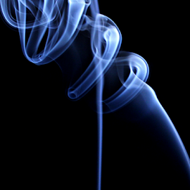 by Dipali S - Abstract Patterns ( cigarette, curve, smooth, mystery, flame, fumes, striped, black, igniting, abstract, spray, silver, backgrounds, white, gray, burning, fire, close-up, smoke, magic trick, wave pattern, fog, squiggle, air, softness, scented, steam )