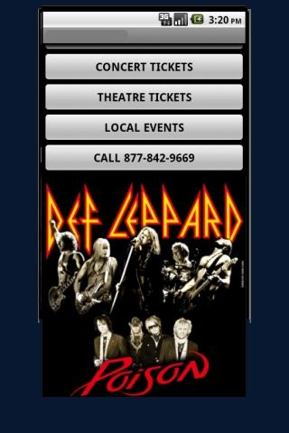 Def Leppard Tour Tickets