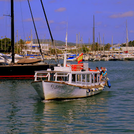 by Steve Tharp - Transportation Boats