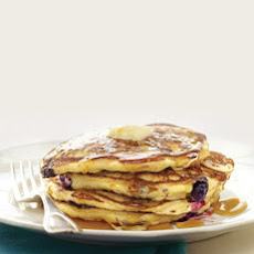 Blueberry-Cornmeal Pancakes