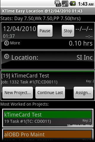 kTime Card
