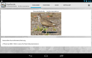 Screenshot of Vogelkunde