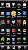 Screenshot of Vitreous Red Theme for CM7