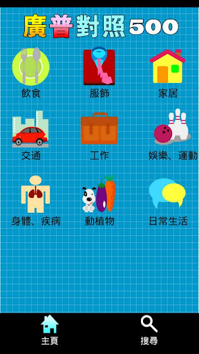 【免費教育App】廣普對照500-APP點子