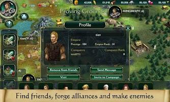 Screenshot of Throne of Swords